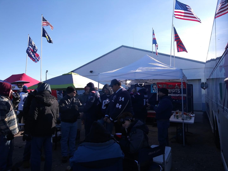 Picture of Gillette Stadium - Patriots v Dallas Cowboys
