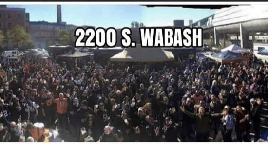 Picture of Bengals at Bears Chicago Bears Tailgating Club 2200 South Wabash Chicago Illinois 60616