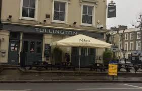 Picture of Tollington Arms :  Aston Villa @ Arsenal