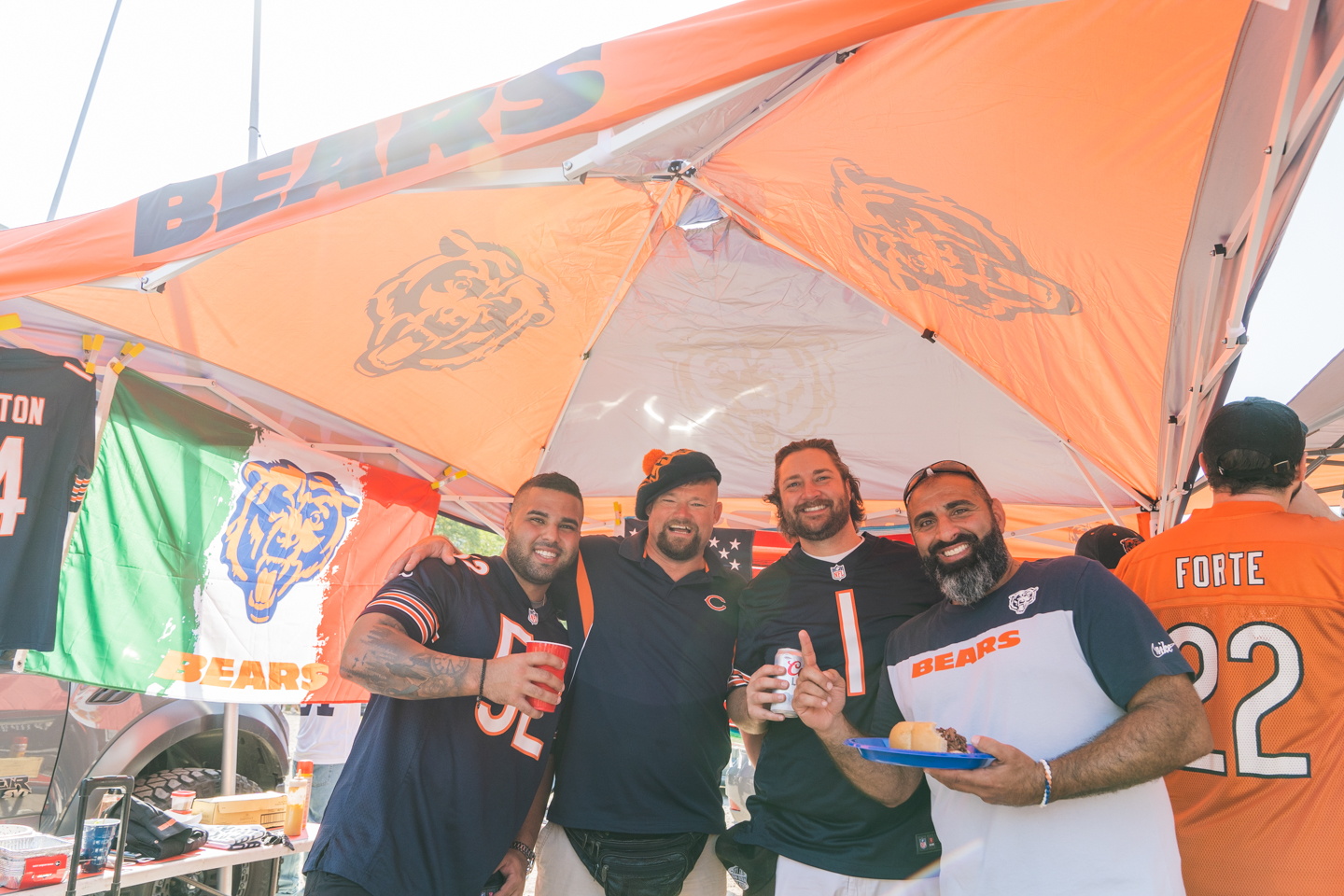 Picture of Packers at Bears Chicago Bears Tailgating Club